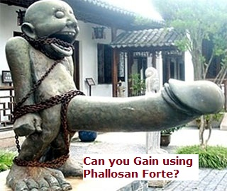 can you gains with phallosan forte