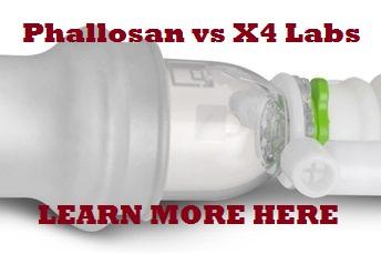 phallosan forte vs x4 labs
